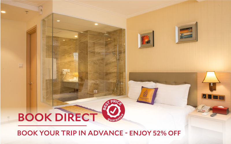 BOOK YOUR TRIP IN ADVANCE – ENJOY 52% OFF